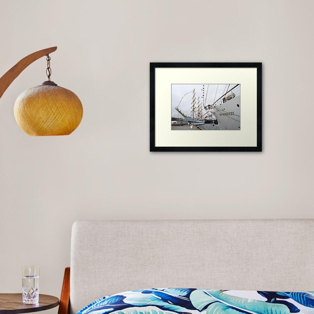 Shipshape Framed Art Print
