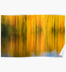 Autumn Abstraction Poster