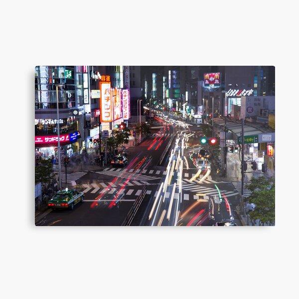 Tokyo Downtown  Metal Print