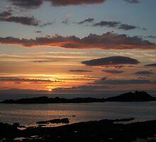 Gamrie Sunset by Fiona MacNab