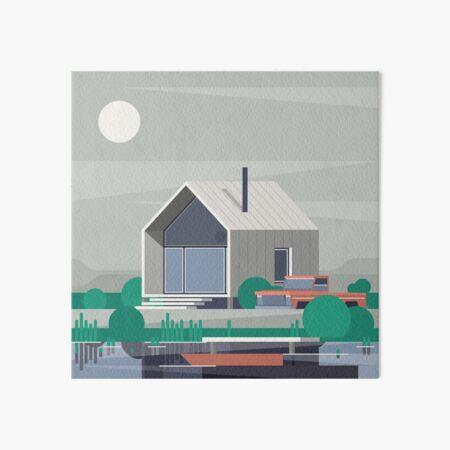Tiny Home Art Board Print