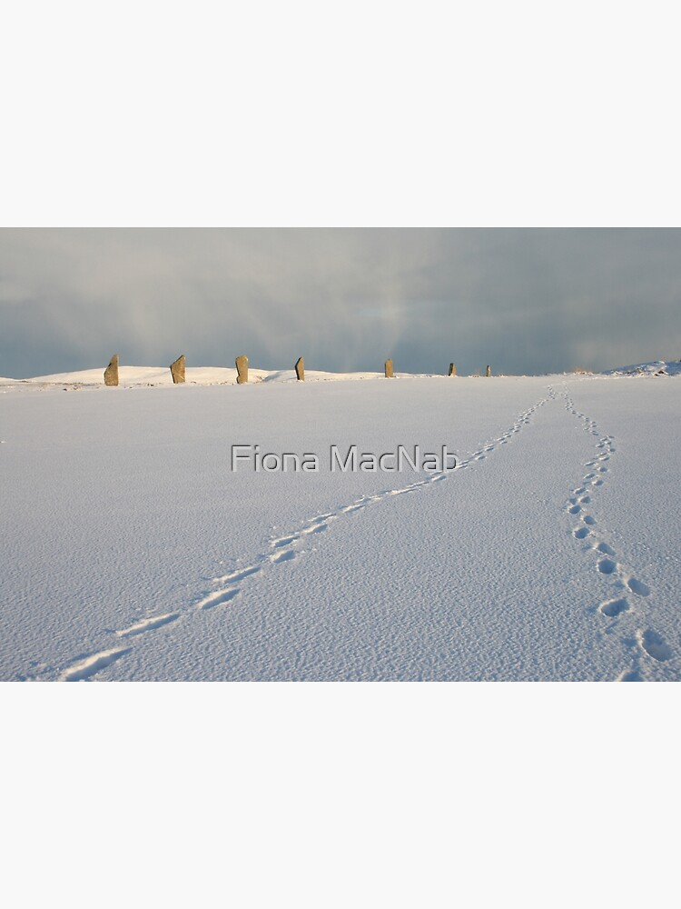 Footprints in the snow by orcadia