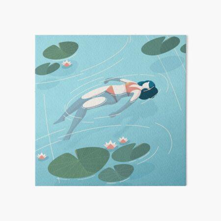 floating Art Board Print