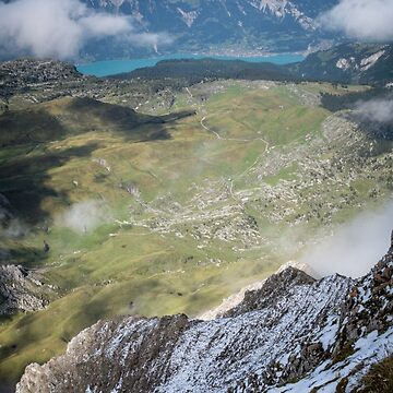 Lake Brienz from Faulhorn, Switzerland by mhowellsmead