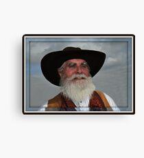 """ Wild Bill "" Canvas Print"