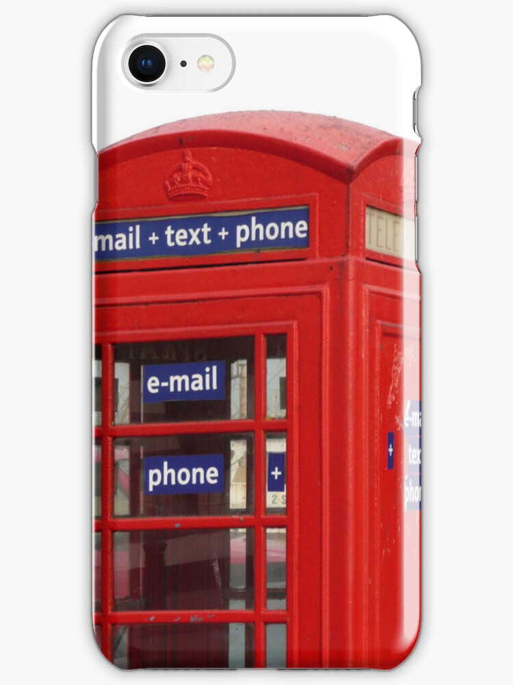 Telephone Box, E-mail+Text+Phone by Woodie