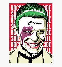 Rock'n'Roll Suicide Photographic Print