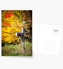 The Colours Of Fall  Postcards
