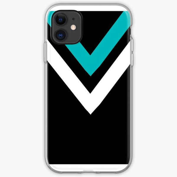 AFL Port Adelaide Power iPhone Soft Case