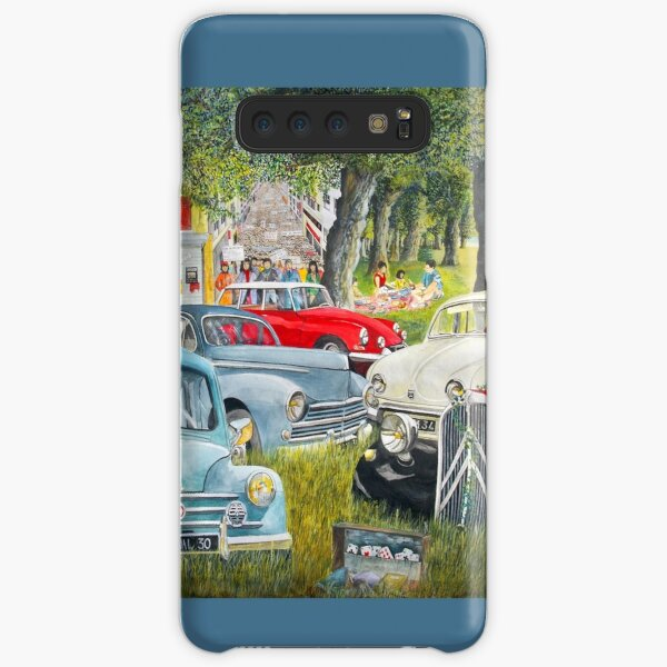 old french vehicles, 4 CV, ds, traction, old cars, french cars, nice cars Samsung Galaxy Snap Case