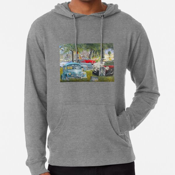 old french vehicles, 4 CV, ds, traction, old cars, french cars, nice cars Lightweight Hoodie