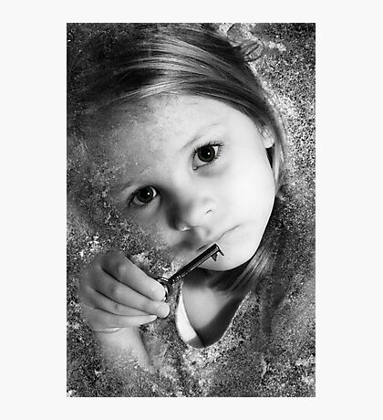 The Key To All Things, As Old As Stone And As Young As A Child Photographic Print