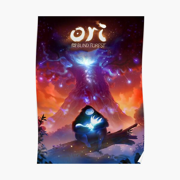 Ori and the blind forest Póster