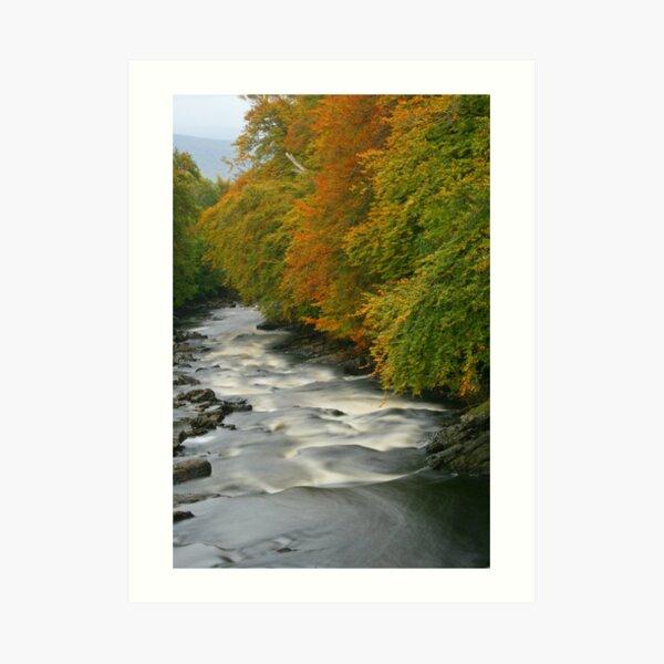 River Dochart, Killin Art Print