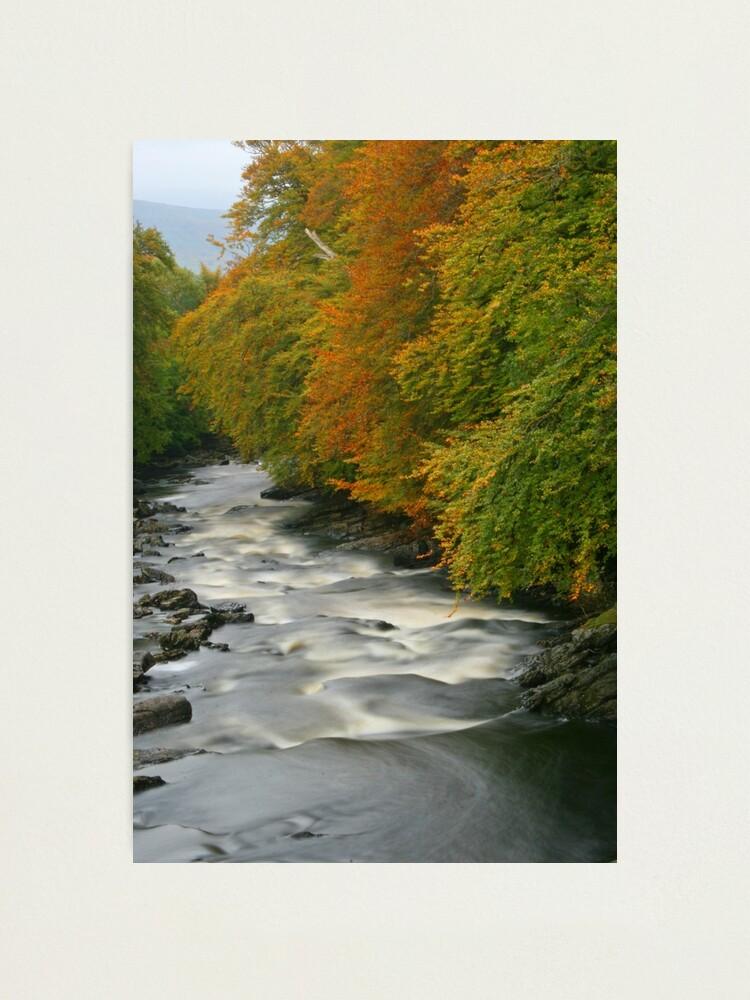 Alternate view of River Dochart, Killin Photographic Print