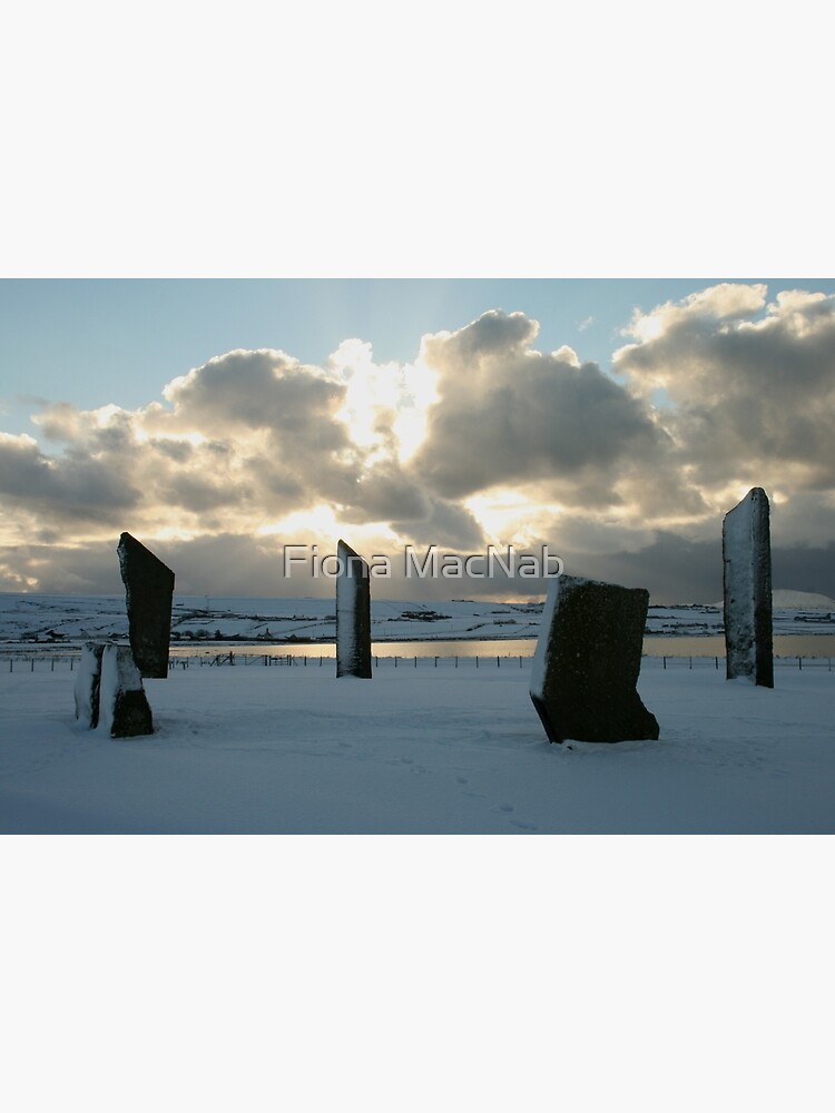 Stenness in snow by orcadia