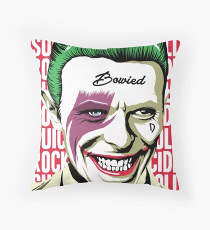 Rock'n'Roll Suicide Throw Pillow