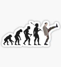 Evolution of Bean Sticker