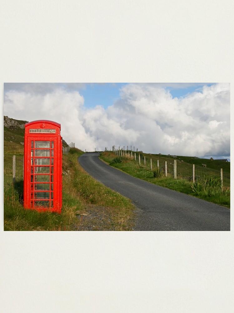 Alternate view of Phone box Photographic Print