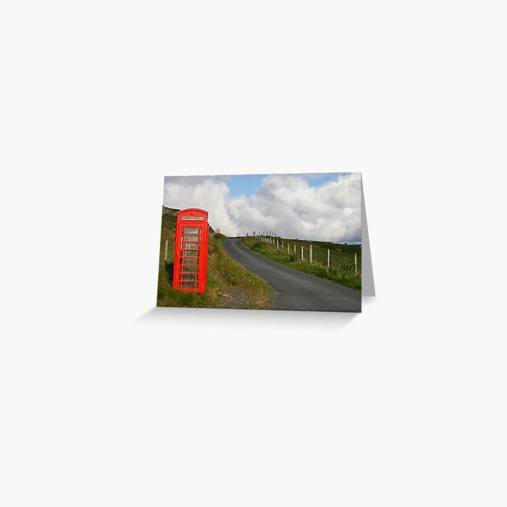 Phone box Greeting Card