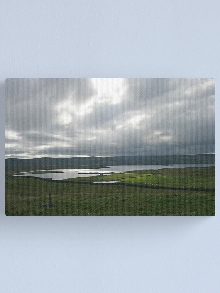 Alternate view of Light on the Land, Shetland Canvas Print