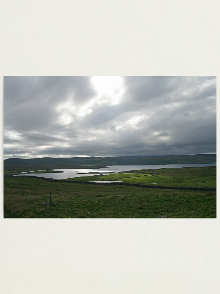 Alternate view of Light on the Land, Shetland Photographic Print