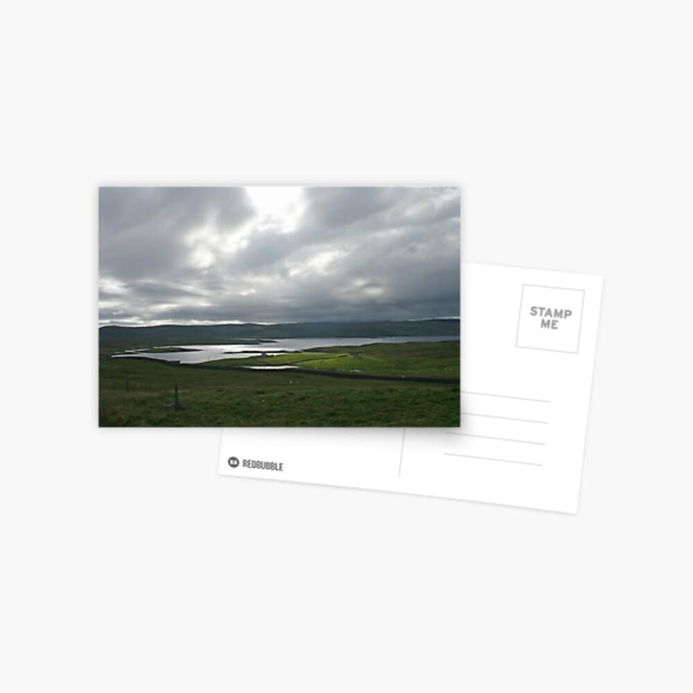 Light on the Land, Shetland Postcard
