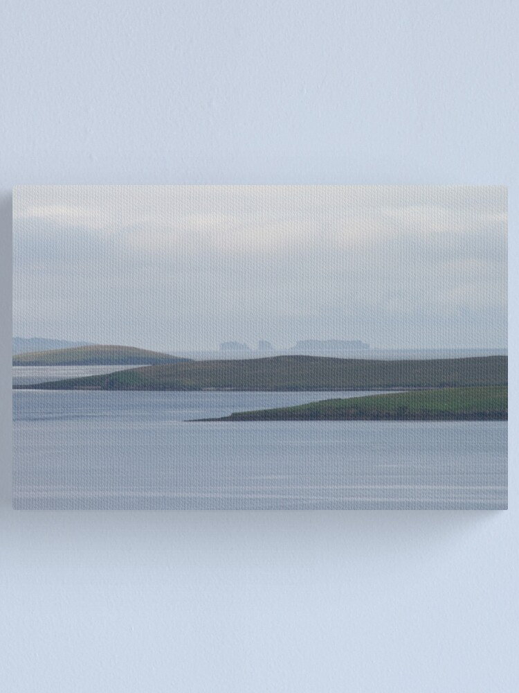 Alternate view of Looking out from Lunna Canvas Print