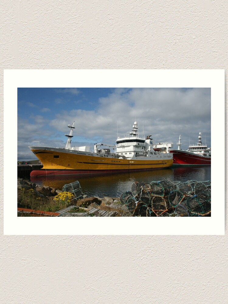 Alternate view of Pelagic fleet Art Print