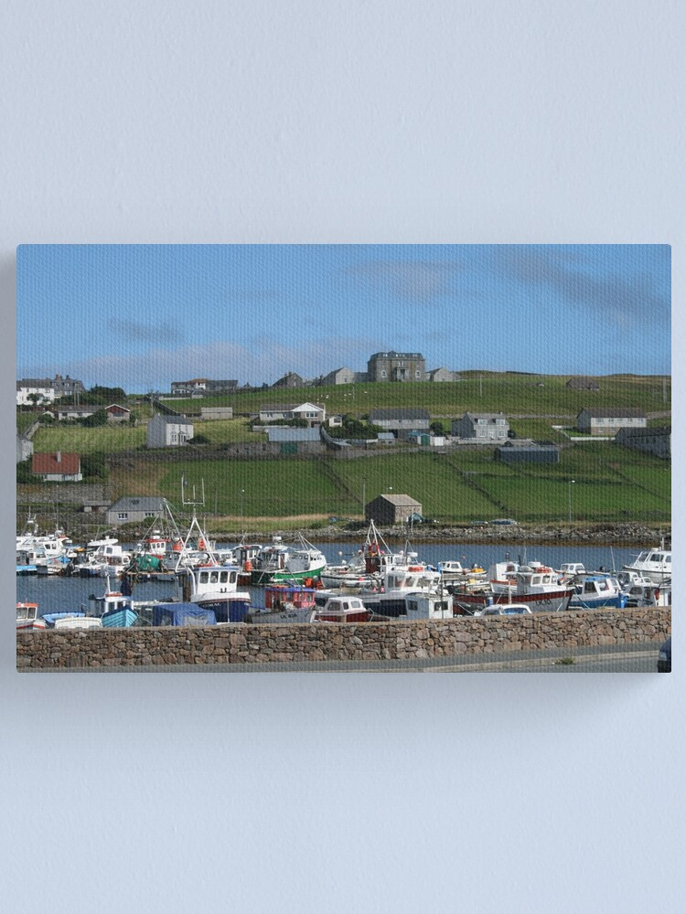 Alternate view of Symbister, Whalsay Canvas Print