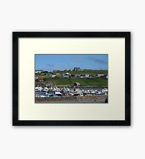 Symbister, Whalsay Framed Print