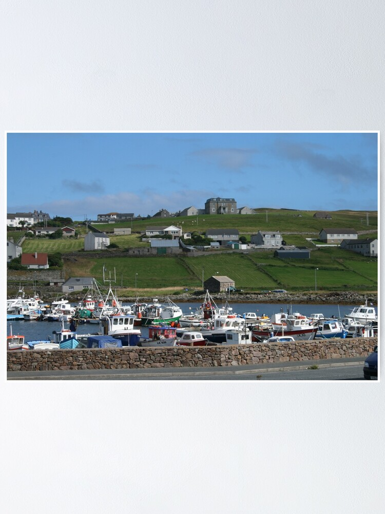 Alternate view of Symbister, Whalsay Poster