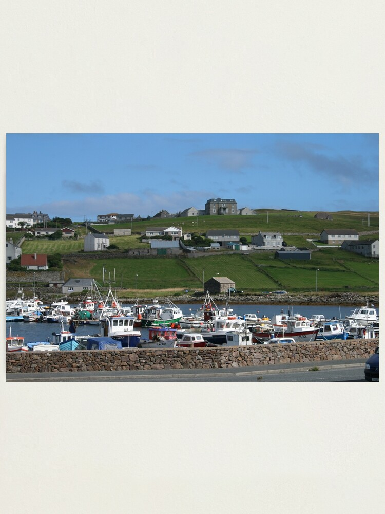 Alternate view of Symbister, Whalsay Photographic Print