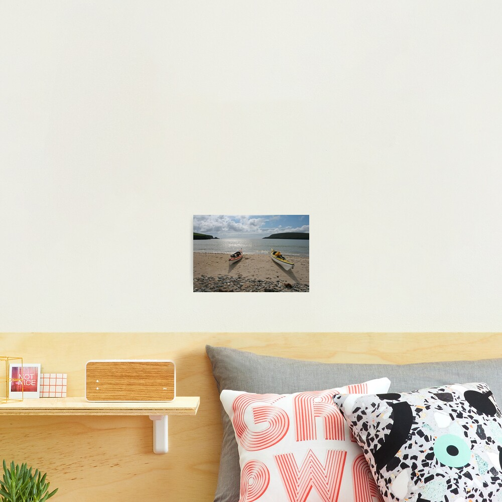 Perfect paddling Photographic Print