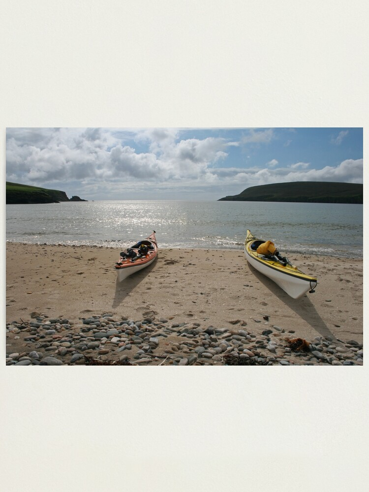 Alternate view of Perfect paddling Photographic Print