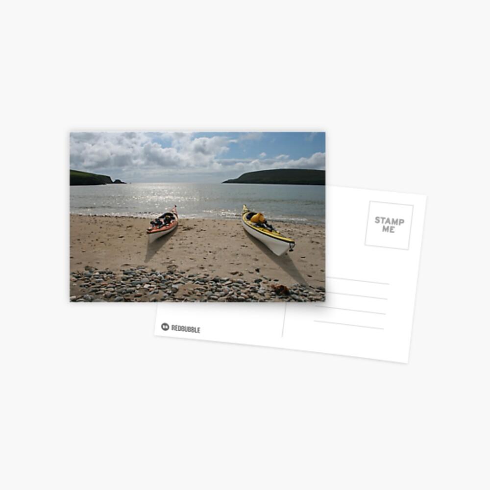 Perfect paddling Postcard