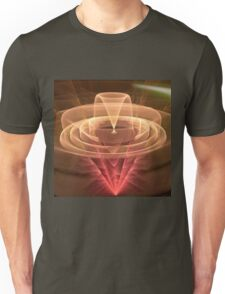 Abstract Motion, fractal abstract art Unisex T-Shirt