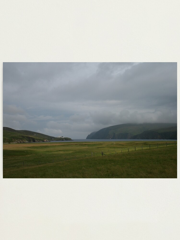 Alternate view of Burraforth & Saxa Vord Photographic Print