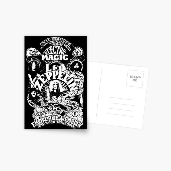 ROCKK BAND ART / LZ Postcard