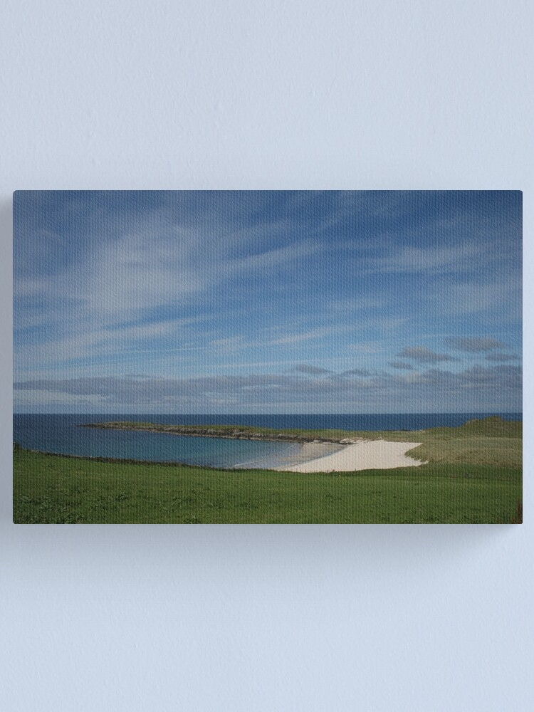 Alternate view of Shetland's Caribbean Canvas Print