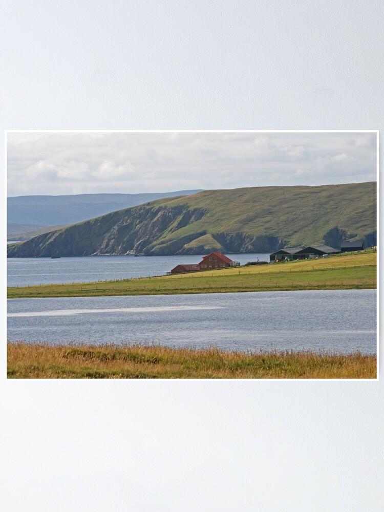Alternate view of Shetland Poster