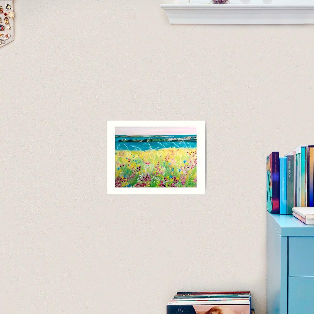 Tenby delights Art Print