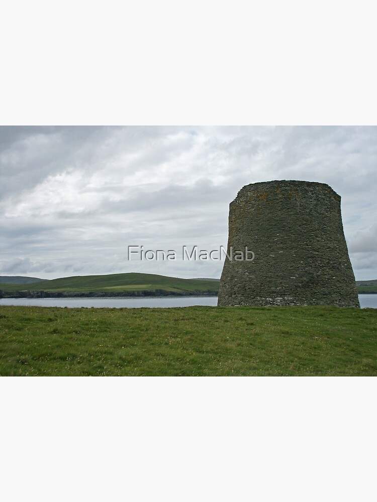 Mousa broch by orcadia