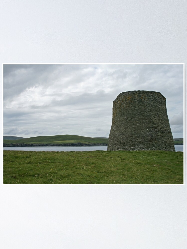 Alternate view of Mousa broch Poster