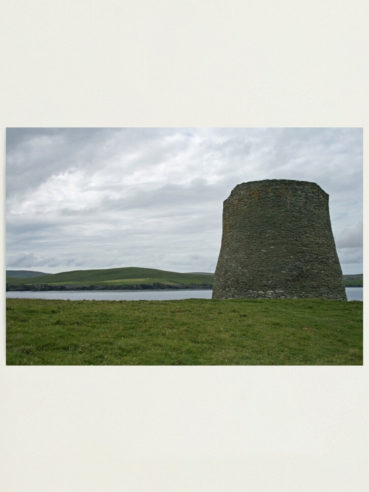 Alternate view of Mousa broch Photographic Print