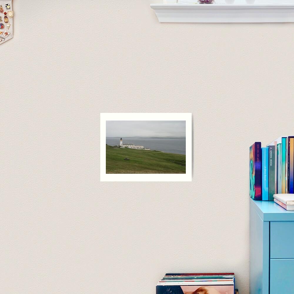Bressay Lighthouse Art Print