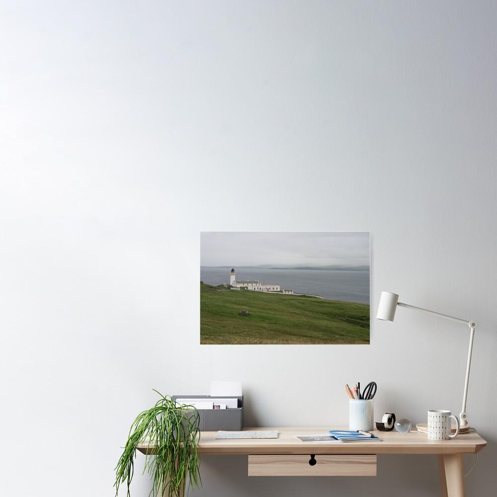 Bressay Lighthouse Poster