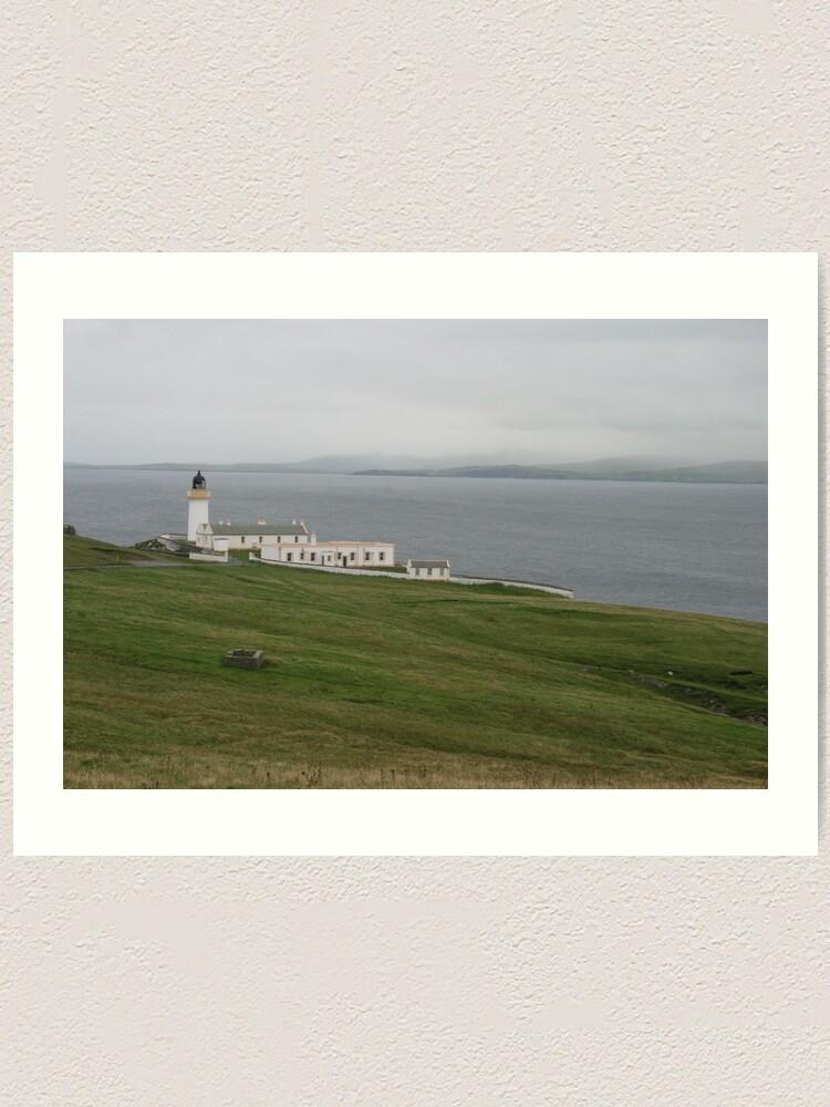 Alternate view of Bressay Lighthouse Art Print