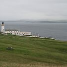 Bressay Lighthouse by Fiona MacNab