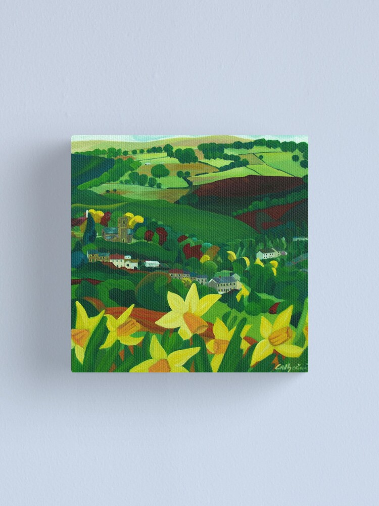 Alternate view of How green is my valley Canvas Print